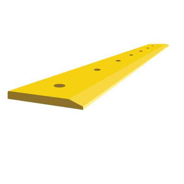7I3015 Loader 970 single bevel flat blade cutting edge