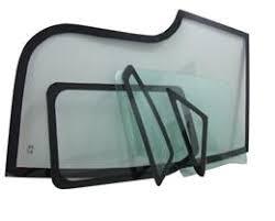 set of cabin glass windows for caterpillar machinery