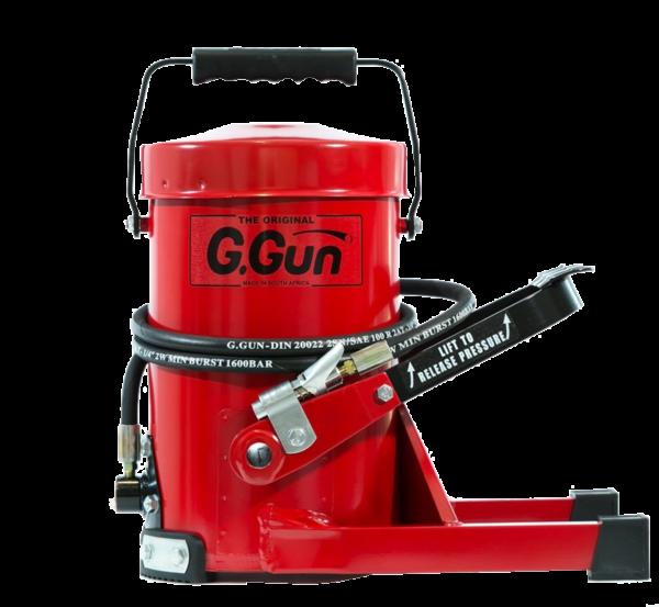gcat grease gun & lubricants